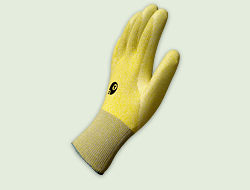 Polyurea coated Glove